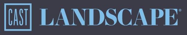 Cast landscape logo